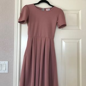Lularoe Pink XXS Amelia Dress
